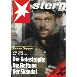 stern Heft Nr.24 / 9 Juni 1988 - Der Held von Borken