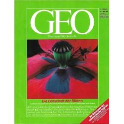Geo Nr. 3 / März 1988 - Die Botschaft der Blüten