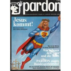 pardon Heft 11 / November 1971 - Jesus kommt!