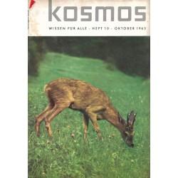 KOSMOS Heft 10 Oktober 1963...