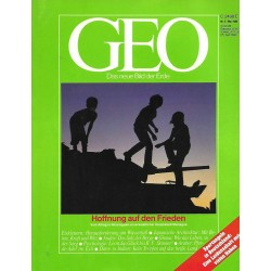 Geo Nr. 5 / Mai 1988 - Hoffnung auf den Frieden