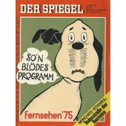 Der Spiegel Nr.35 / 25 August 1975 - Fernsehen 1975