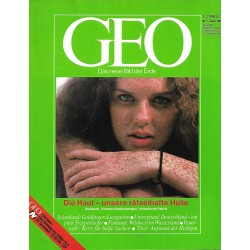 Geo Nr. 1 / Januar 1988 - Die Haut