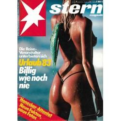 stern Heft Nr.4 / 20 Januar 1983 - Urlaub 83, billig wie noch nie