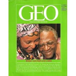 Geo Nr. 6 / Juni 1988 - Bilder von Haß und Liebe