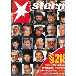 stern Heft Nr.5 / 26 Januar 1989 - §218