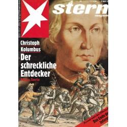 stern Heft Nr.46 / 7 November 1991 - Christoph Kolumbus
