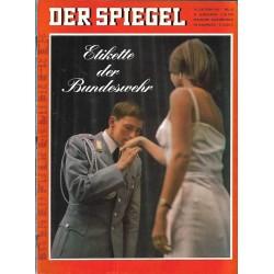 Der Spiegel Nr.43 / 16 Oktober 1967 - Etikette der Bundeswehr