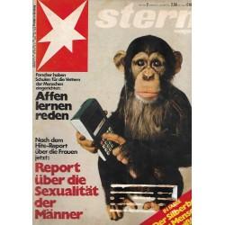 stern Heft Nr.2 / 5 Januar 1978 - Affen lernen reden