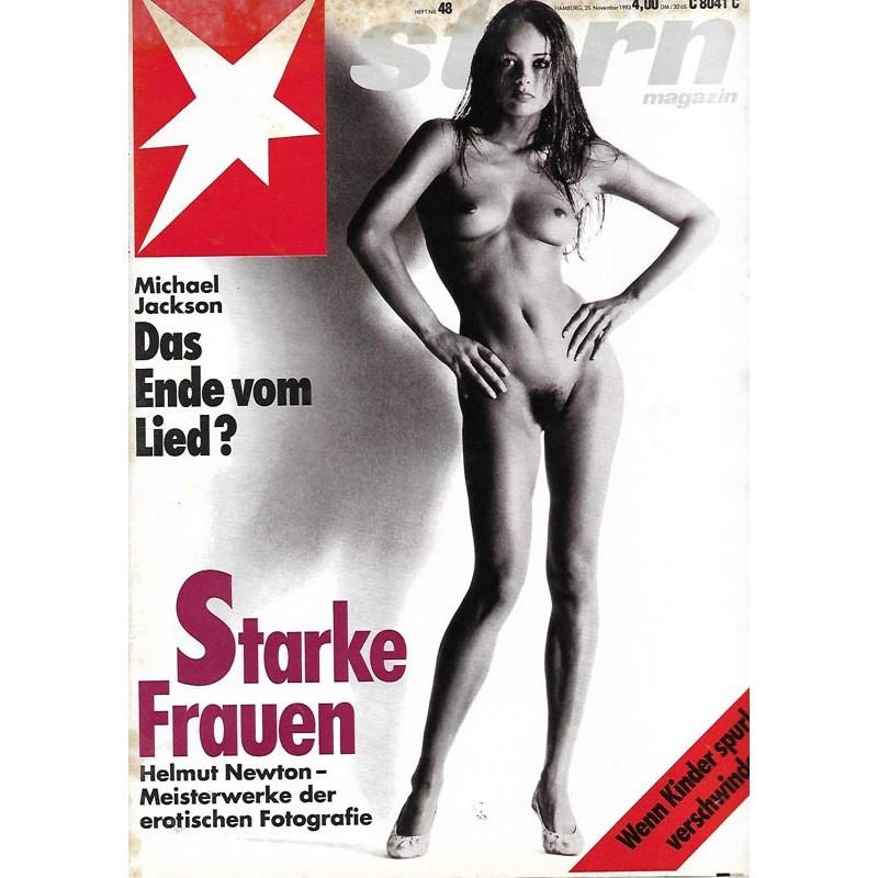 stern Heft Nr.48 / 25 November 1993 - Starke Frauen