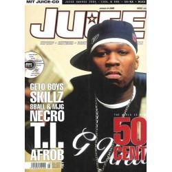 JUICE Nr.72 März / 2005 & CD 50 - 50 Cent
