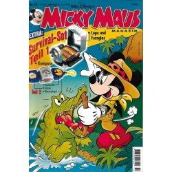 Micky Maus Nr. 32 / 2 August 2001 - Survivl Set Teil.1