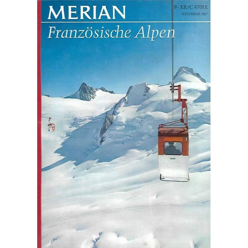 MERIAN Französische Alpen 9/XX September 1967