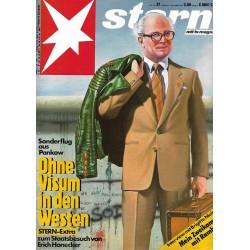 stern Heft Nr.37 / 3 September 1987 - Ohne Visum in den Westen