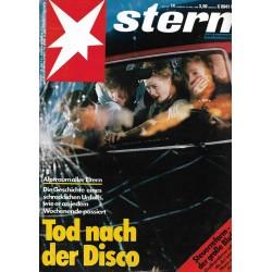stern Heft Nr.14 / 30 März 1988 - Tod nach der Disco