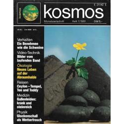 KOSMOS Heft 7 Juli 1981 - Neues Leben auf der Abraumhalde