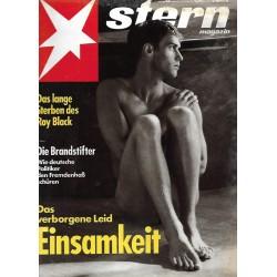 stern Heft Nr.43 / 17 Oktober 1991 - Einsamkeit