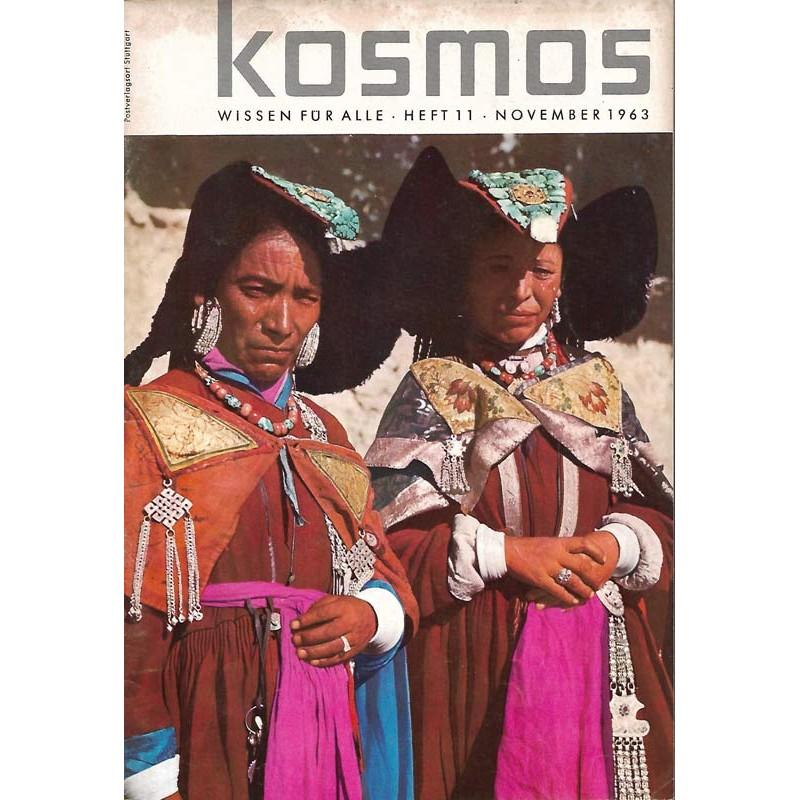 KOSMOS Heft 11 November 1963 - Ladakhi-Frauen