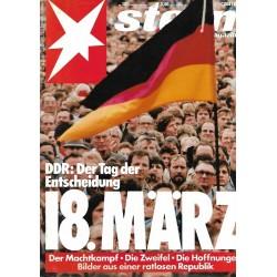 stern Heft Nr.12 / 15 März 1990 - DDR Tag der Entscheidung