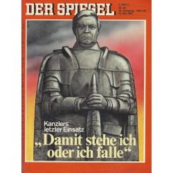 Der Spiegel Nr.22 / 25 Mai 1981 - Damit stehe ich oder ich falle