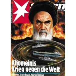 stern Heft Nr.34 / 13 August 1987 - Khomeinis