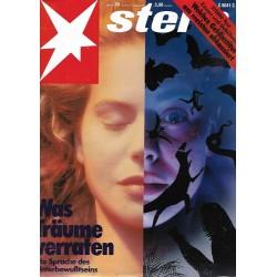 stern Heft Nr.39 / 21 September 1989 - Was Träume verraten