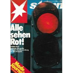 stern Heft Nr.36 / 30 August 1979 - Alle sehen Rot!