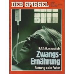 Der Spiegel Nr.16 / 13 April 1981 - Zwangsernährung