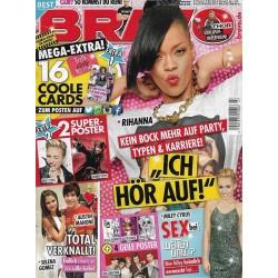 BRAVO Nr.47 / 13 November 2013 - Rihanna, Ich hör auf!