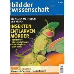 Bild der Wissenschaft 6 / 2003 - Insekten entlarven Mörder