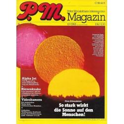 P.M. Ausgabe Oktober 10/1983 - Sonne und Mensch