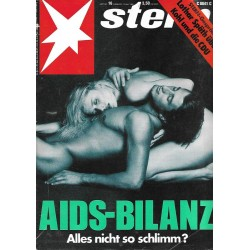 stern Heft Nr.16 / 13 April 1989 - Aids Bilanz