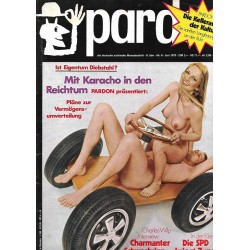 pardon Heft 6 / Juni 1970 - Mit Karacho in den Reichtum