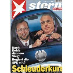 stern Heft Nr.43 / 20 Oktober 1994 - Schleuderkurs