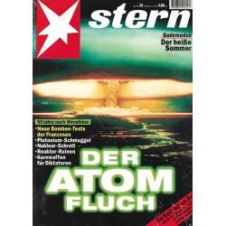 stern Heft Nr.28 / 6 Juli 1995 - Der Atom Fluch