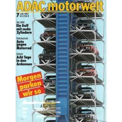 ADAC Motorwelt Heft.7 / Juli 1987 - Morgen parken wir so
