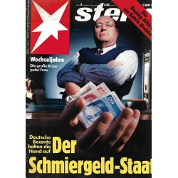 stern Heft Nr.8 / 13 Februar 1992 - Der Schmiergeld-Staat