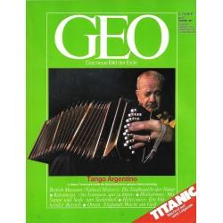 Geo Nr. 12 / Dezember 1987 - Tango Argentino