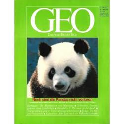 Geo Nr. 3 / März 1987 - Die Pandas