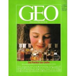 Geo Nr. 4 / April 1987 - Die Partitur der Düfte