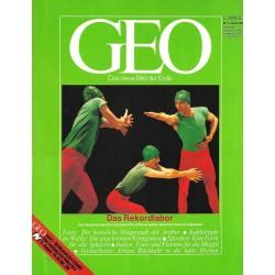 Geo Nr. 8 / August 1987 - Das Rekordlabor