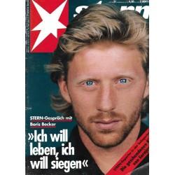 stern Heft Nr.31 / 23 Juli 1992 - Boris Becker Gespräch