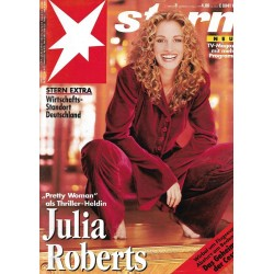 stern Heft Nr.8 / 17 Februar 1994 - Julia Roberts