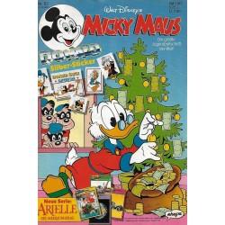 Micky Maus Nr. 52 / 20 Dezember 1990 - Donald Silber Sticker