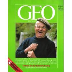 Geo Nr. 7 / Juli 1987 - Immer an der Emscher lang