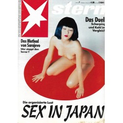 stern Heft Nr.7 / 10 Februar 1994 - Sex in Japan