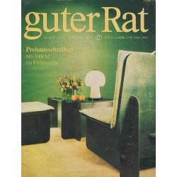Guter Rat 3/1978 - Steckmöbel