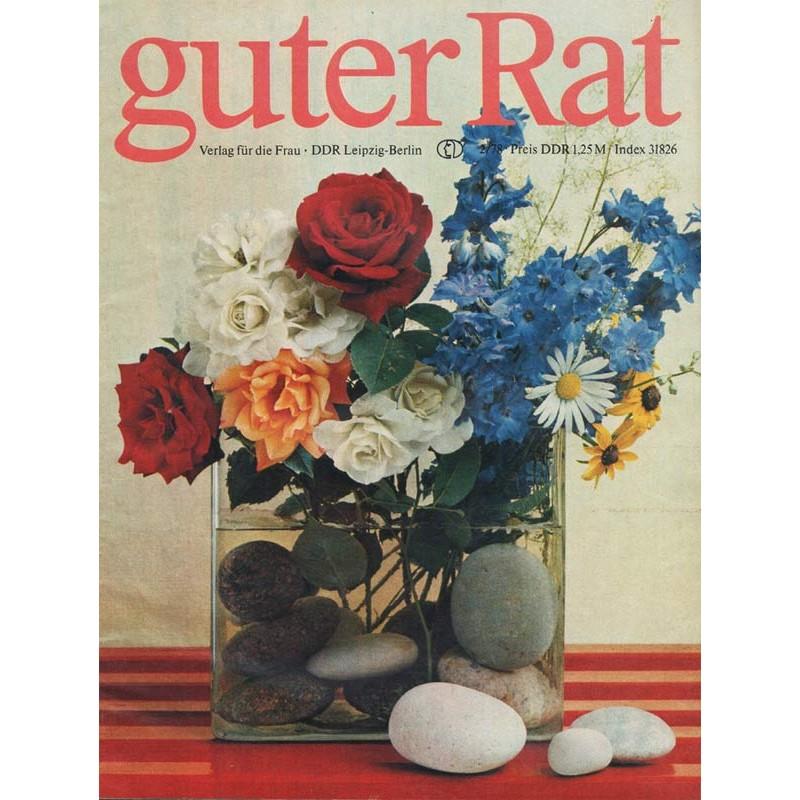 Guter Rat 2/1978 - Blumen in Vase