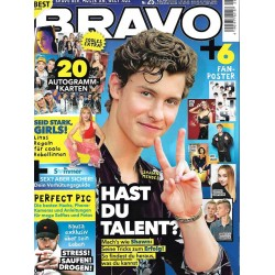 BRAVO Nr.25 / 21 November 2018 - Hast du Talent?