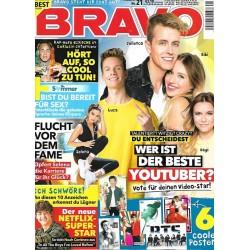 BRAVO Nr.21 / 26 September 2018 - Wer ist der beste Youtuber?